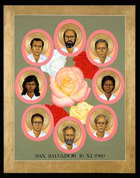 Liberation Theology martyrs in El Salvador